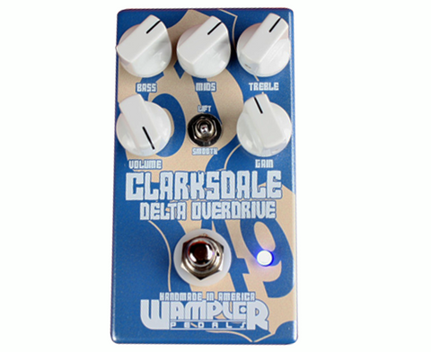 Wampler Clarksdale Delta Overdrive Pedal  , Pedals, Wampler, Texas Guitar Ranch - Texas Guitar Ranch
