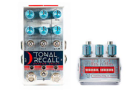 Chase Bliss Audio Tonal Recall Analog Delay , Pedals, Chase Bliss, Texas Guitar Ranch - Texas Guitar Ranch