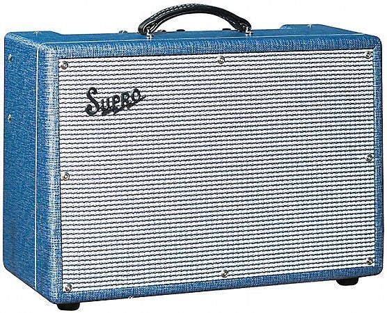 Supro 1650RT Royal Reverb - 604535W 2x10 Guitar Tube Combo Amp Made In USA