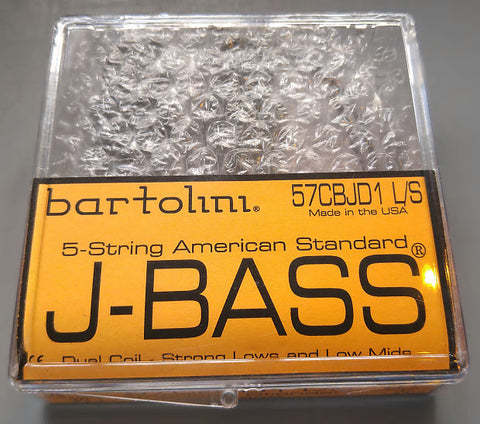 Bartolini 57CBJD1-LS 5 String Am Std Jazz Bass Pickups Low Deep , Accessories, Bartolini, Texas Guitar Ranch - Texas Guitar Ranch