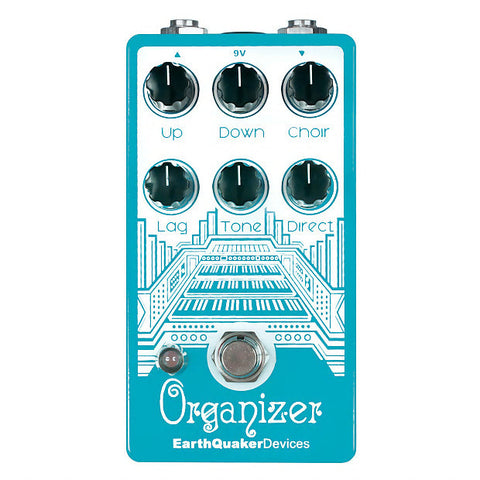 EarthQuaker Devices Organizer Polyphonic Emulator Guitar Effects Pedal , Pedals, EarthQuaker, Texas Guitar Ranch - Texas Guitar Ranch