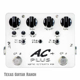 Xotic AC Plus Booster with Free Patch Cables Guitar Effects Pedal , Pedals, Xotic, Texas Guitar Ranch - Texas Guitar Ranch