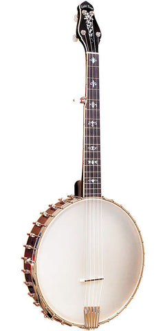 Gold Tone CEB-5 Cello Banjo (Octave Lower, Five String, Vintage Mahogany) with Hard Case