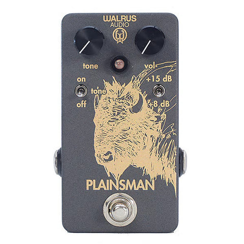Walrus Audio Plainsman Clean Boost Guitar Effects Pedal