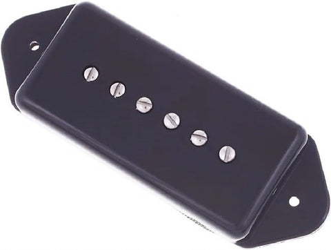 Fralin P90 Hum-cancelling neck pickup, dogear, +5% overwind, Black , Accessories, Fralin, Texas Guitar Ranch - Texas Guitar Ranch