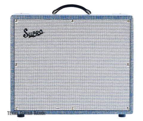 Supro S6420+ Thunderbolt Plus - 604535W 1x15 Guitar Tube Combo Amp Made In USA , Amps, Supro, Texas Guitar Ranch - Texas Guitar Ranch