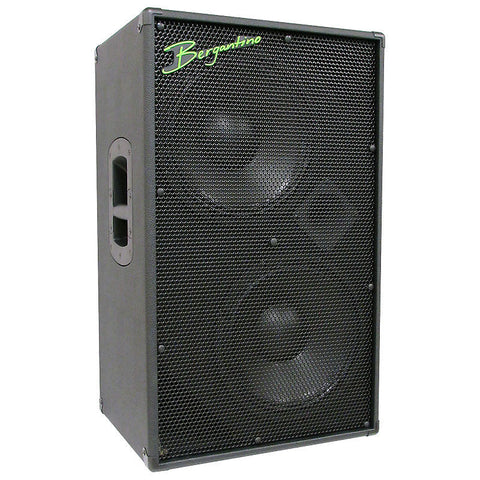 Bergantino HDN212 'High Definition Neo' Series 2-12″ & Tweeter Bass Guitar Loudspeaker , Amps, Bergantino, Texas Guitar Ranch - Texas Guitar Ranch
