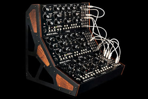 Moog Mother 32 Tabletop Semi-Modular Synthesizer Set of 3 With Rack