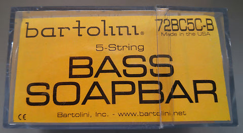 Bartolini 72BC5C-B BC Soapbar Neck 5 String Pickup 72mm , Accessories, Bartolini, Texas Guitar Ranch - Texas Guitar Ranch