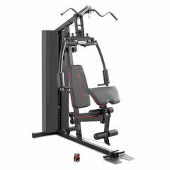 Marcy black and red multi station home gym