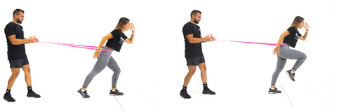 Resistance Band Running
