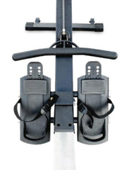 rowing machine foot pedals