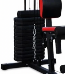 weight stack attached to marcy multi station home gym