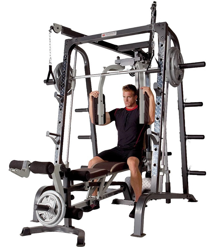 Marcy smith machine cage md g world fitness