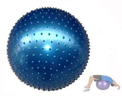 65cm Exercise Massage Fit Ball (Blue)
