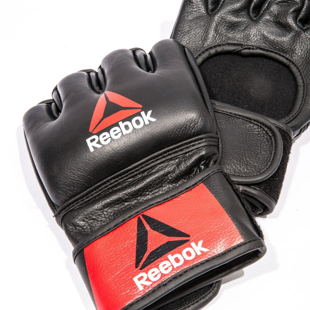 Reebok Combat Leather MMA Fight Gloves
