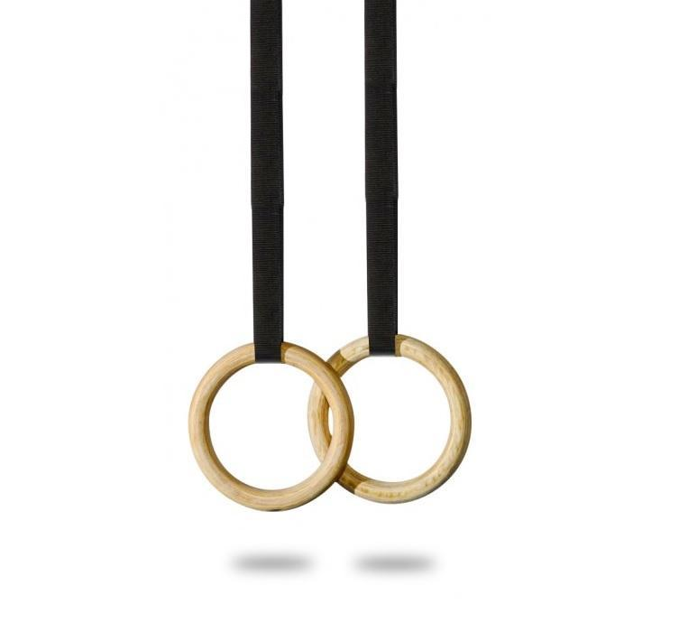Gymnastic Rings Wood Commercial
