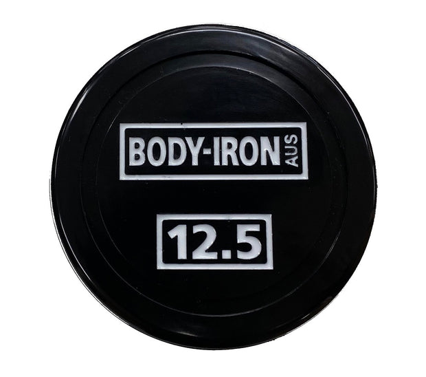 Body Iron 275 kg Commercial Club PU Dumbbell Set with Optional Rack