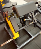 Body-Iron Platinum Plate Loaded Bicep Machine