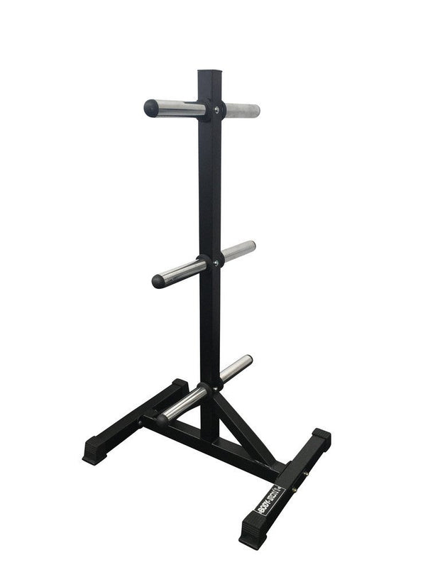 Body Iron Olympic Bumper Plate Tree Holder Commercial