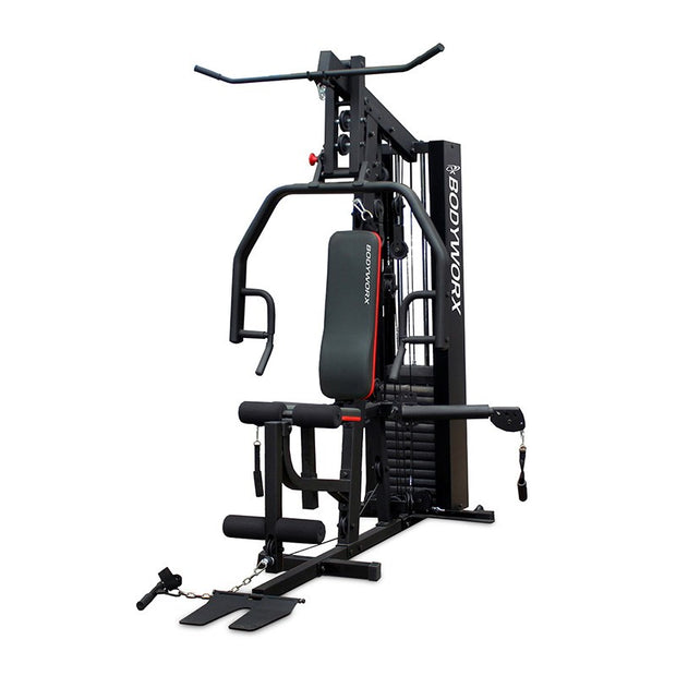Bodyworx Multi Station Cable Arm Home Gym With Leg Press LBX950CAGLP