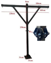 Body Iron Commercial Boxing Frame