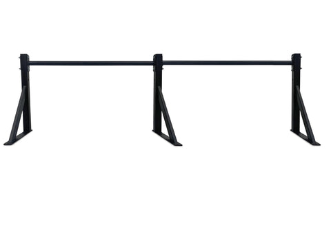 Body Iron Wall Mounted Pull Up Bar Commercial + Pull Up Bar Extension