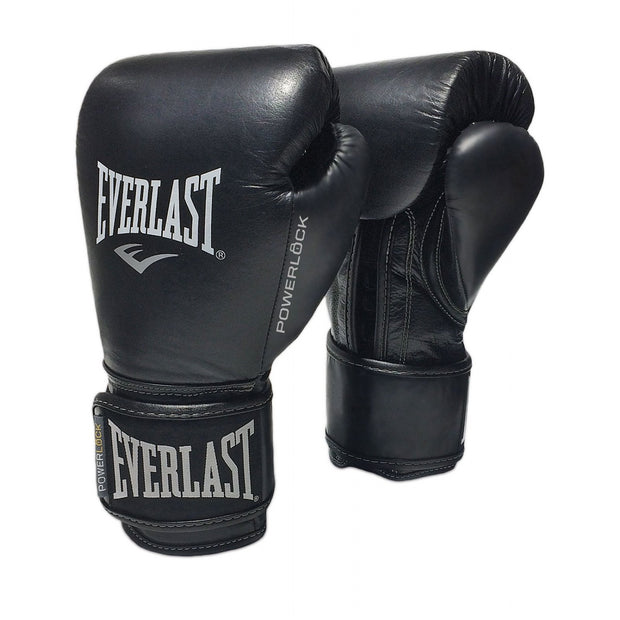 Everlast Powerlock Pro Training Glove Black/Black