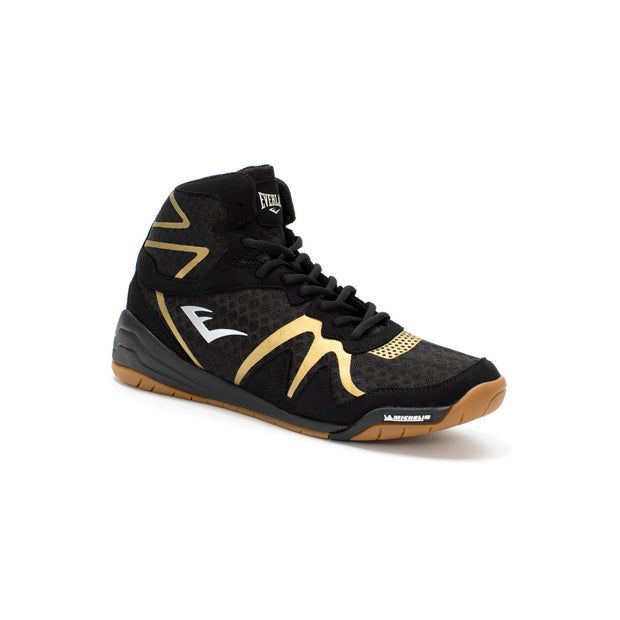 Everlast PIVT Boxing Boots Black/Gold