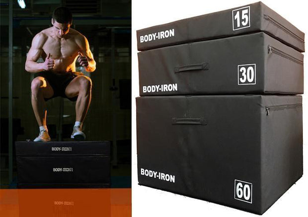 Body Iron Foam Plyometric Boxes Set