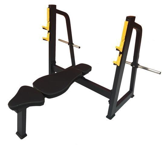 Body Iron Platinum Flat Bench Press Commercial (Almost Sold Out