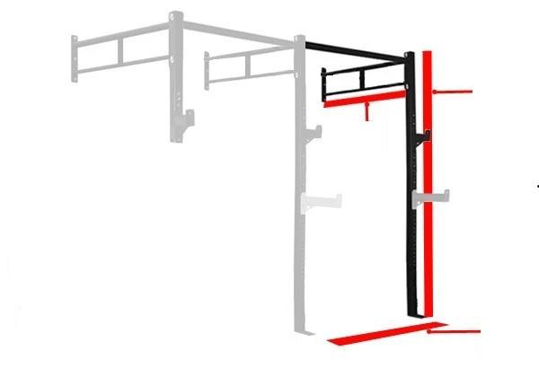 Body Iron Garage Wall Mounted Rig ES2 V2 Side Extension