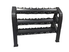 Body Iron Platinum 3 TIER 9 pair Commercial Dumbbell Rack