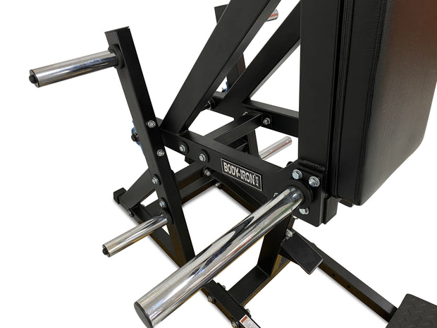 Body Iron Front Squat & Hack Squat Machine
