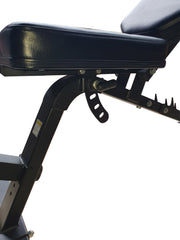 adjustable seat on exercise bench