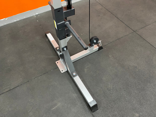 Cable Crossover Machine Home Use (FLOOR STOCK PICK UP ONLY MELBOURNE) Item must be bolted to the ground. Weight Limit  60KG Each Side