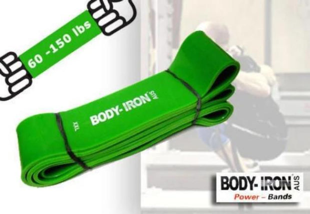 Body Iron41 inch Power Band XXLarge(Green 60 - 150lbs)