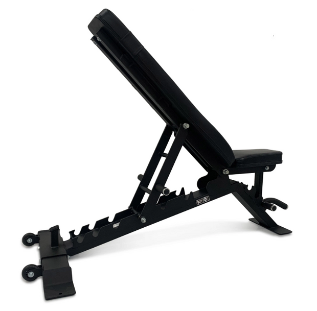 Body Iron Commercial Pro Club Adjustable Bench 885 (Black Frame) (Dispatched December 1st-10th)