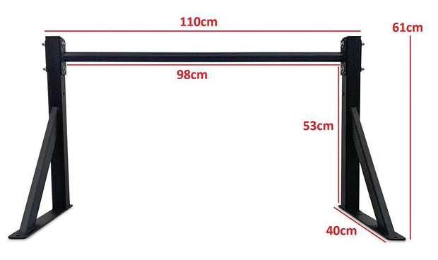 Body Iron Wall Mounted Pull Up Bar Commercial