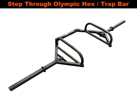 Step Through Olympic Hex / Trap Bar