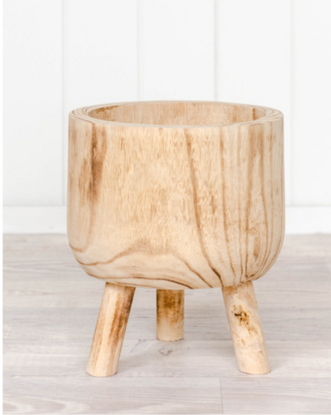 Paloma timber pot