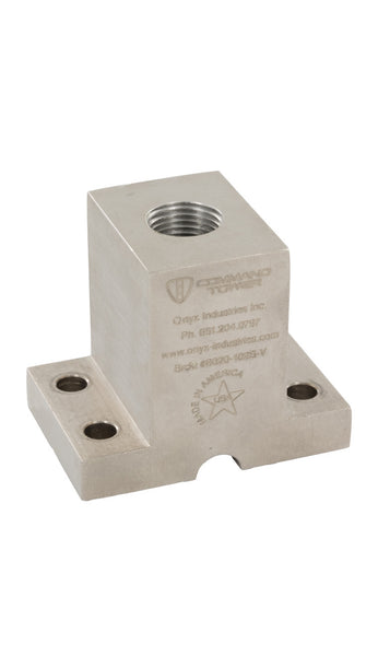 10HV Solid Aluminum Mounting Block