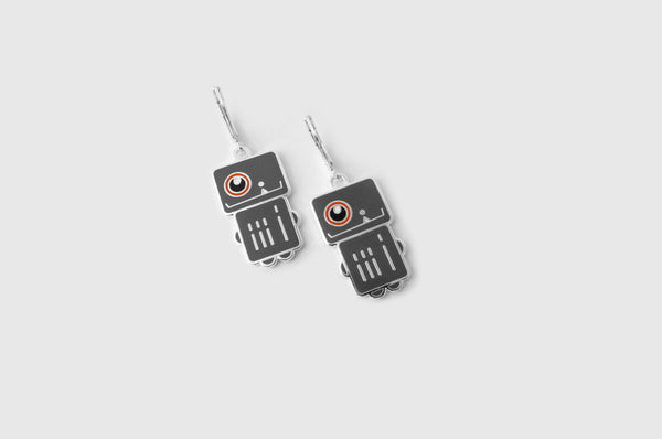 Spacecraft Robota Earrings
