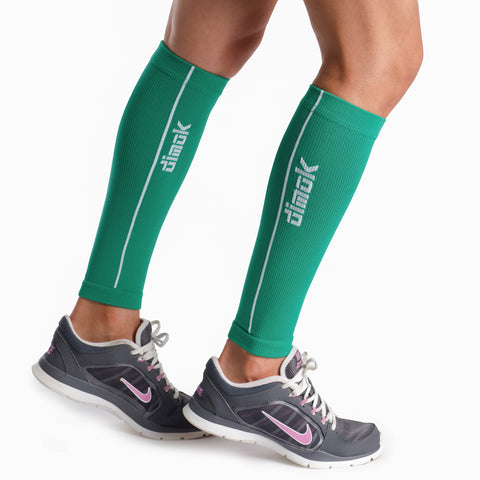 Colorful Graduated Calf Compression Sleeves Calf Support Footless Socks - Dimok