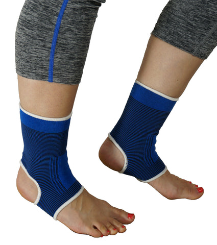 Ankle Brace - Compression Sleeve Support - Dimok