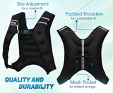 Weight Vest 12LBS Workout Equipment Body Weighted Vest for Men Women Kids - Dimok