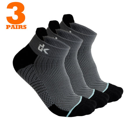 Running Socks - Quarter high, moisture wicking - Dimok