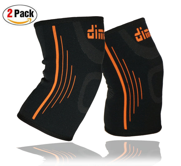 Knee Compression Sleeves Knee Brace Pair for Kids Men Women - Dimok