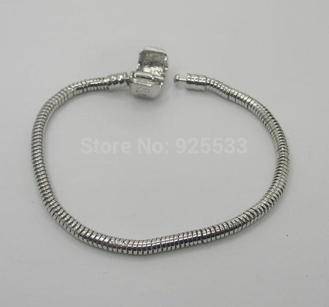 6pcs Silver Plated Snake Chain