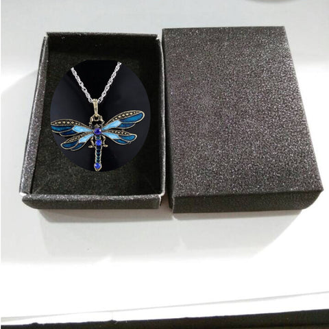 Gorgeous Dragonfly Pendants In Various Colors That Come In A Gift Box